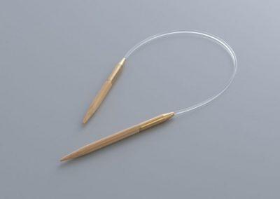 Asymmetric Circular Needle23cm(9.5″)