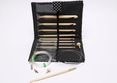 "Interchangeable FlexCrochet HooksFull Set, 14cm (5.5"")9 sizes, ID 57837 (Europe/Nordic)"