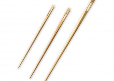 White Bamboo Blunt Needles