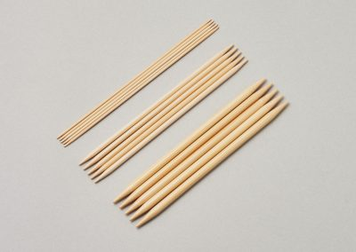 Double Pointed Needles, set of 515cm(6″)