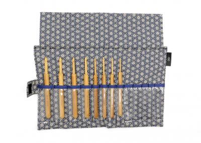 KoshitsuCrochet Hooks with Bamboo Tips Set 13cm (5″) 8 sizesID 58693