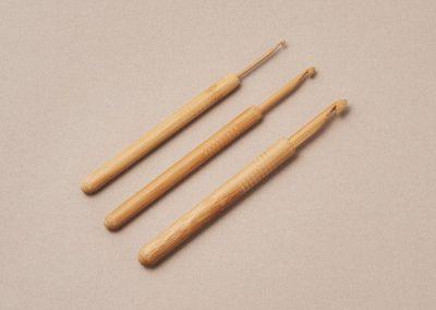 KoshitsuCrochet Hooks, Bamboo Tip13cm(5″)