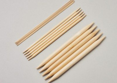 Double Pointed Needles, set of 520cm(8″)
