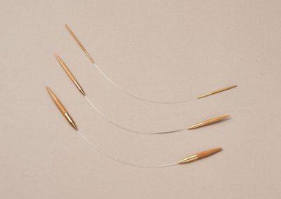 KoshitsuAsymmetric Circular Needles23cm (9.5″)