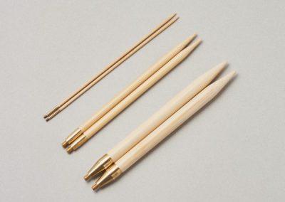 ShirotakeInterchangeable Circular Needle Pair Tips14cm (5.5″)