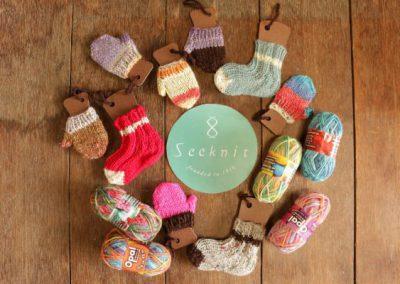 Knit Ornament KitsSeeknit offers