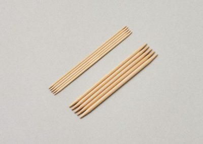 Double Pointed Needles, set of 510cm(4″)